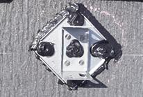 STEP6 支持金具のシーリングのイメージ
